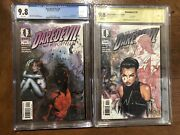 Daredevil 9 Cgc 9.8 And Daredevil 10 Cbcs 9.8 Signed First Echo