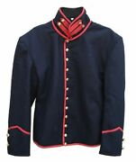 2021 New Navy Blue Union Shell Artillery American Military Wool Jacket Fast Ship