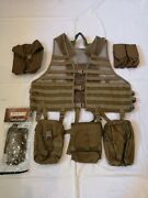 Tactical Tailor Molle Vest With Pouches Coyote Tan Bnwot