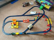 1988 Tomy Train 3 Freight Train Set Battery Operated Andtrain Wash Boxed And Tunnel