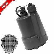 For Draining Hot Tub/pool/rinnai Tankless Water Heater Sump Submersible Pump