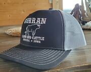 Curran Land And Cattle Trucker Hat - Bto Big Time Operator - Real Farm Hat