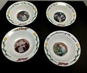 Kelloggs Cereal Bowls Set Of 4 New In Pkg 1996 Cornflakes Sweetheart Good Start