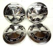 Ford 1964 1965 1966 Nos Dog Dish Hub Caps Poverty Hubcaps Fairlane Falcon Truck