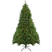 Northlight 7.5and039 Pike River Fir Artificial Christmas Tree - Dual Color Led Lights