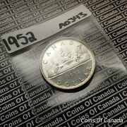 1952 Canada 1 Silver Dollar Coin Swl Sealed In Acid-free Package Coinsofcanada