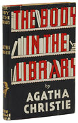 The Body In The Library Agatha Christie First Edition 1st 1942 Crime Club