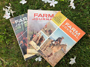 Vintage Lot Of 3 1963 Farm Journals American Agriculture News Magazine Farming
