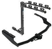 Trailer Hitch For 18-21 Rx350l 14-21 Highlander Exc Dual Exhaust 4 Bike Carrier