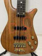 Used Warwick Streamer Stage 2 4st Bass Guitar With Gig Case