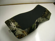 Polaris Sportsman 400 - 800 Camo And Black Gripper Seat Cover Fits 1997-2004 Years