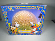 Disney Theme Park Collection Spaceship Earth Monorail Toy Accessory New In Box