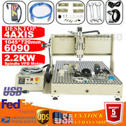 Usb 2.2kw 4 Axis Cnc 6090z Router Engraver Wood Drill/milling Machine+controller