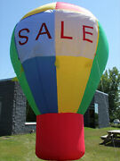 Cc Inflatables 20' Rainbow Promo Advertising Inflatable Hot Air Style Balloon