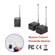 2 Cue Remote Wireless Fireworks Firing System Four Fire Modes Emb01-02r