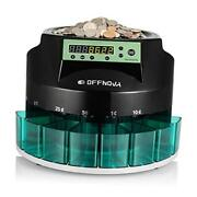 Hardaway Electric Automatic Coin Sorter And Counter Machine Coins Up To 300