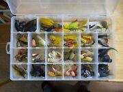 Dozens Of Homemade Lures, Poppers For Fly Fishing Or Light Spinning/casting Rods