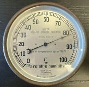 Antique Barometer - Lufft - West Germany - Santa Barbara - 6 Inches - Abbeon