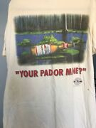 1995 Vintage Budweiser Anheuser-busch Frog Your Pad Or Mine T-shirt