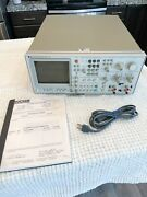 Hp 3582a Spectrum Analyzer 25khz Dual Channel -operating Manual + Calibration
