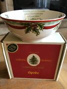 Spode Christmas Tree 2009 Annual Revere Candy Bowl 6.25 New In Box