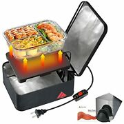 Mini Portable Oven - 120v 90w Portable Microwave With On/off Switch Dull Black