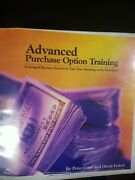 Advanced Purchase Option Training - Peter Conti And David Finkel