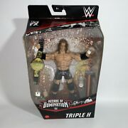 Wwe Elite Walmart Exclusive Triple H 2020 Decade Of Domination Hhh New In Hand