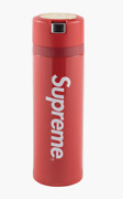 New Authentic Supreme Zojirushi Stainless Steel Mug Thermos F/w17 Red Logo