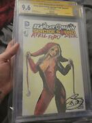 Harley Quinn And Suicide Squad April Fools Special Cgc 9.6 Ss Broomal Sketch Cover