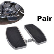 2andtimes Universal Adjusted Motorcycle Front Rider Floorboards Foot Boards Pedal Set
