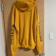 Chrome Hearts Authentic Hoodie Mustard Size L Long Sleeves Sweat Tops