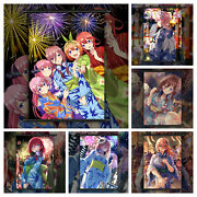 The Quintessential Quintuplets Anime Hd Print Wall Poster Scroll Room Decor