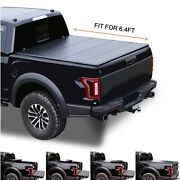 6.4and039 Hard Quad-fold Truck Bed For 2002-18 Dodge Ram 19-20 Classic Tonneau Cover