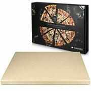 Navaris Xl Pizza Stone For Baking - Cordierite Pizza Stone Plate For Bbq Grill
