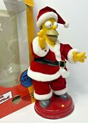The Simpsons Large Talking And Dancing Homer Simpson Please Watch Video