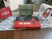 Vintage Game Lot Anagrams Flinch Oh Hell Ladies Ring Toss