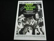 Kyra Schon Signed Night Of The Living Dead 11x17 Movie Poster Autograph