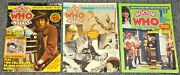 1979 Marvel Doctor Who Weekly 1 37 44 1st Monthly Bbc Tv Uk Comic Magazine Fn/vf