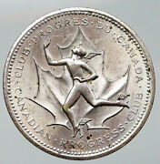 1967 Canada Confederation 100 Years Since 1867 Commemorative Silver Medal I92077