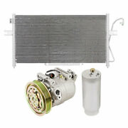 For Nissan Frontier 1999 2000 Ac Compressor W/ A/c Condenser And Drier Gap