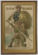 Original Weapons For Liberty Ww I Poster Us Govand039t Print.office 1917 20x30