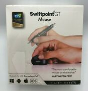 Swiftpoint Gt Wireless Ergonomic Travel Mouse With Bluetooth Ios Ipad New Sealed