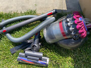 Dyson Big Ball Canister Vacuum W/ Attachments Works Well