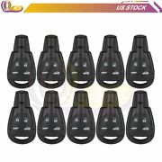 10 Set Of Keyless Entry Remote Fob Fit For 2003-2009 Saab 9-3 9-5 Ltqsaam435tx
