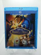 Beauty And The Beast Only 2 Discs Diamond Edition Blu-ray/dvd Combo In Blu-ray
