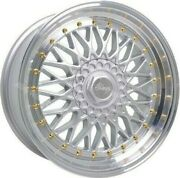 Alloy Wheels 16 Rs For Volkswagen Caddy Derby Polo Lupo Golf 4x100 Gs Spl