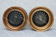 16 Rs Bronze Alloy Wheels Fits Volkswagen Caddy Derby Polo Lupo Golf 4x100