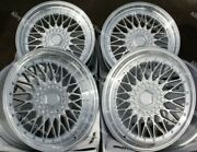 16 Silver Rs Alloy Wheels Fits Volkswagen Caddy Derby Polo Lupo Golf 4x100 Ss