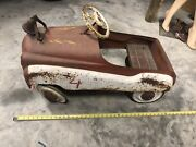 Vintage 1940s Murray Fire Chief Childs Pedal Car